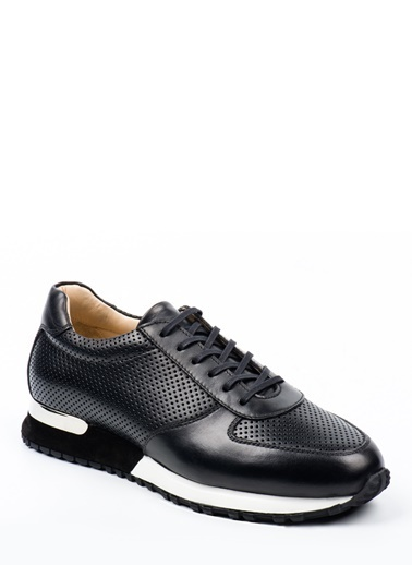 Doka Deri Sneakers Siyah